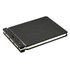 ** Raven Vinyl-Guarded Post Binder, 11 x 17 Sheets, 2'' Capacity, Black **