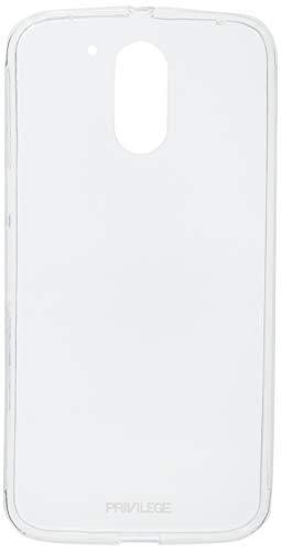 Capa Protetora para Asus Zenfone 4, Privilege, Capa Protetora Flexível e Película de Proteção, Transparente