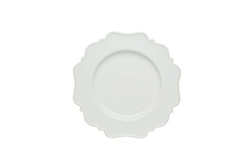 Red Vanilla Pinpoint Bread And Butter Plate, Set Of 6, 5.75