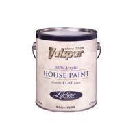 (Valspar Brand 1 Quart Flat White Medallion Exterior Latex House Paint 27-45501 by Valspar)