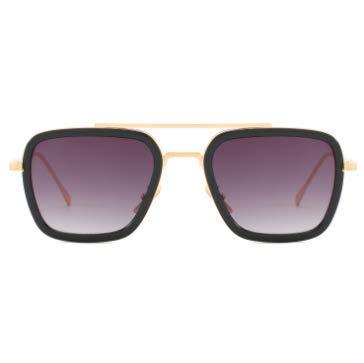 WENZHEN Fashion Trend Sunglasses E Mens and Womens Vintage Sunglasses