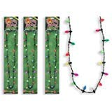 Lotsa Lites Christmas Holiday Flashing Light Bulbs Necklace (sold individually) [Holiday Gifts]