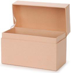 Darice Bulk Buy Core'dinations Paper Mache Recipe Box 6.75 inch x 3.75 inch x 4.5 inch (3-Pack) (Best Paper Mache Recipe)