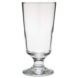 Libbey Embassy Footed Drink Glasses, Hi-Ball, 10 Oz, 6'' Tall