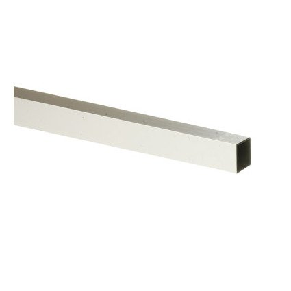 Boltmaster Square Tube 1''Sq.X8'L Aluminum Bulk by Steelworks Corp/Boltmaster