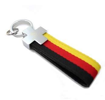 COMERCIO UNIVERSAL Llavero Bandera Alemania-Germany de Tela ...