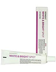 Korean Cosmetics Serment White and Brigh Spot cream 30ML 4 major Ingredients with ASL technology for Remove face dark spots, freckles and face tone recover,Blemish treatment