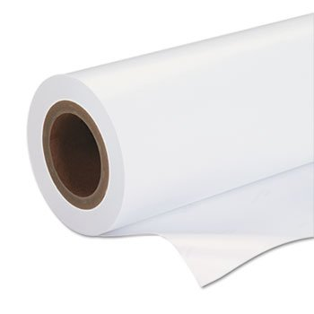 Premium Luster Photo Paper, 3' Core, 24'' X 100 Ft, White by Epson