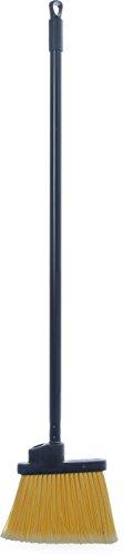 Carlisle 3686100 Duo-Sweep Metal Handle Flagged Lobby Angle Broom, 36