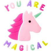 CraftBoutique Unicorn Gel Window Clings ~ Colorful Unicorn and You Are Magical
