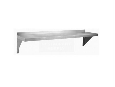Gusto WS1248 12'' x 48'' Stainless Wall Shelf by Gusto