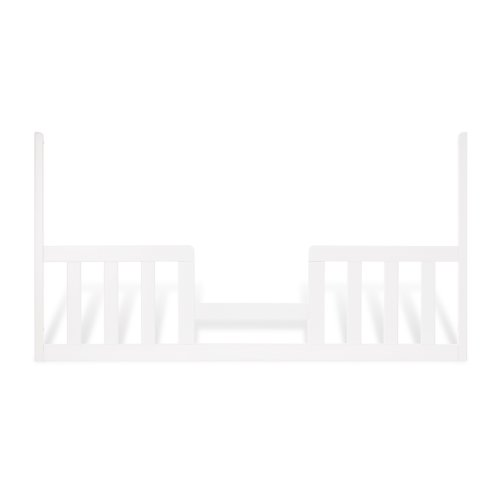 Child Craft Toddler Bed Guard Rail for Convertible Crib, Matte White - Convertible Crib Guard Rail