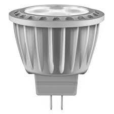 (HC Lighting - Clear MR16 Style Bi-Pin Reflector Style 6W 3000K Low Voltage 12V Input LED Retro Fit Light Bulb (Replaces 35 watt Halogen Light Bulb))