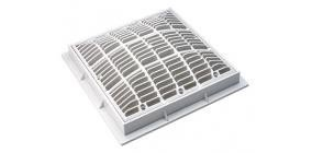 Waterway WW6424790V 9 in. Square Pool Cover, White   B00T8MW8EM