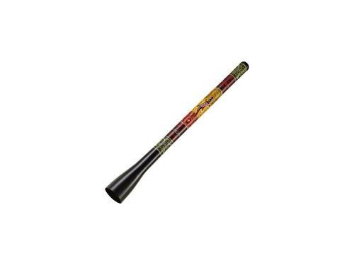 Meinl Percussion TSDDG1-BK Tunable Fiberglass Trombone Didgeridoo, Black with Dot Painted Design