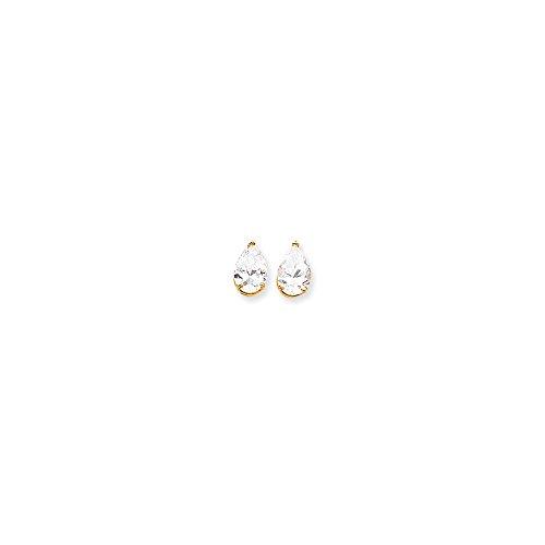 Jewelry Best Seller 14k 12x8 Pear Earring Mountings