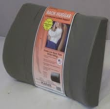 Bodyline Back-Huggar - Traditonal/Regular Style - The Original Lumbar Cushion - GRAY BDL1-10000-GRAY