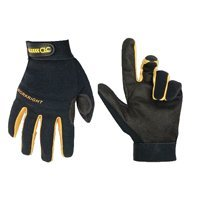 CLC Custom Leathercraft Workright Open Cuff Flex Grip Work Gloves