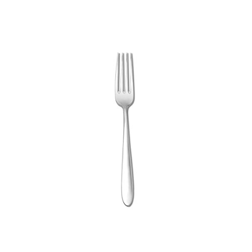 Oneida Foodservice B023FDEF Mascagni II Salad/Dessert Forks, 18/0 Stainless Steel, Set of 12