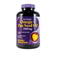 Natrol Flax Seed Oil - 200 softgels