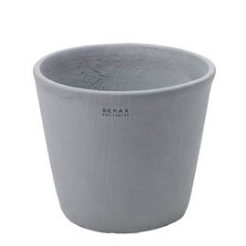 Exceptionnel Serax Grey Large Ceramic Flower Pot   D17 X H17cm, Home And Garden Plant  Pots