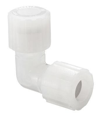 CHEMGLA - 1/4'' PFA Elbow Compression Fitting , EA1