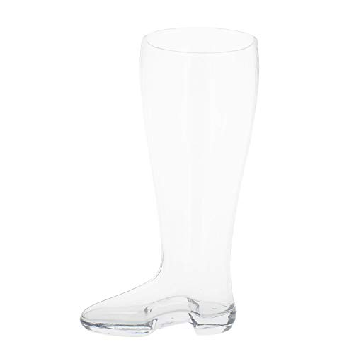 Das Boot Beer Glass - 13in Beer Boot Glass Tall Beer Glass Traditional Drinking Boot, 2.5 L Drinking Glass ()