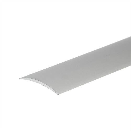 Self Adhesive Aluminium Threshold Strip 40mm x 2M Door Floor Trim Transition LPOSK TMW Profiles (Champagne)