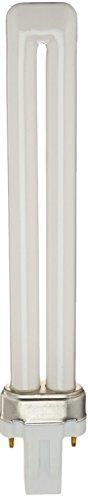 Sylvania 21137 (4-Pack) CF13DS/835/ECO 13-Watt Single Tube Compact Fluorescent Light Bulb, 3500K, 800 Lumens, 82 CRI, T4 Shape, GX23 Bi-Pin Base