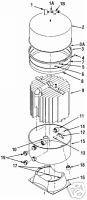 Sta-Rite DES51 / DES60 Filter Tank O-Ring 24700-0073 APCOKIT475
