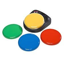 - School Specialty Big Step by Step Activation Surface Interchangeable Communicator, 5 in, Assorted Color