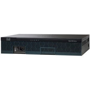 Cisco 2901 Integrated Services Router - 2 x PVDM, 4 x HWIC, 2 x CompactFlash (CF) Card, 1 x Services Module - 2 x 10/100/1000Base-T WAN C2901-VSEC/K9 by Generic