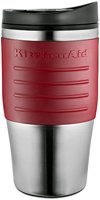 KitchenAid KCM0402TMES Travel Coffee Mug, Espresso