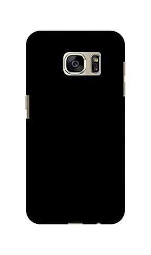 Sankee Polycarbonate Back Cover for Samsung Galaxy S7   Black