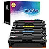 INK E-SALE Compatible Toner Cartridge Replacement for HP 410A CF410A 410X CF410X for HP Color Laserjet Pro MFP M477fdw M477fdn M477fnw M477 M452 M452dn M452dw M452nw M377dw CF411A CF412A CF413A