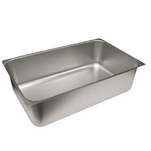 Winco C-WPP 6-Inch Deep Stainless Steel Spillage Pan, Full Size by Winco