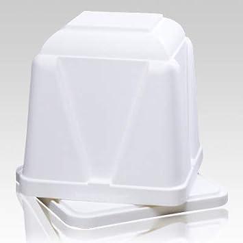 Amazon com: Memorials com Vantage White Cremation Urn Vault