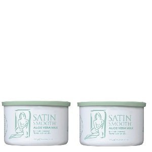 Satin Smooth Aloe Vera Wax 2 Pack by Satin Smooth