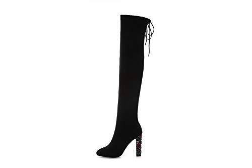 Balamasa 5 Abm13367 36 Noir Femme Noir Sandales Compensées AAdqrw0