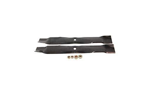 John Deere Original Equipment Mower Blade Kit #AM141033 (John Mulching Deere Mower)