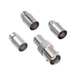 GEM ELECTRONICS 35000TP Universal BNC Plug 2 Pc Crimp-On, 50 Ohm