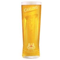 Carling Pint Glass - Burton-On-Trent