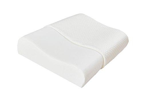 Acanva Natural Tencel Memory Foam Contour Pillow, Standard Size