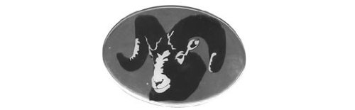 Knockout 603H Big Horn Ram Hitch Cover