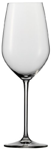(Schott Zwiesel Stemware Fortissimo Collection Tritan Crystal Bordeaux, Red Wine Glass, 22-Ounce, Set of 6)