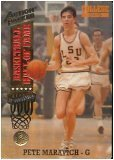 - 1993 Action Packed #Pete Maravich Hall of Fame Basketball Card