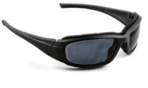 3M Safety Sunwear Safety Glasses With Black Frame, Gray Anti-Fog Lens And Microfiber Storage Bag by 3M