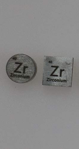 (Zirconium (Zr) Metal Set 99.95% Pure for Collection or Experiments)