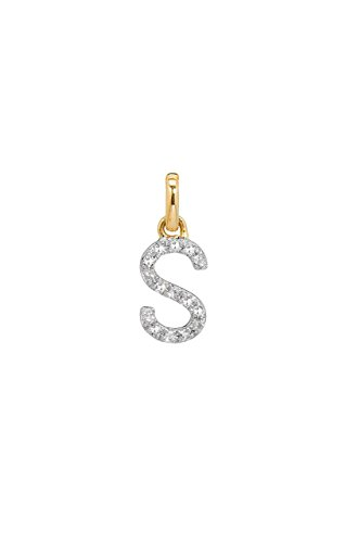 diamond initial charm, Zoe Lev Jewelry by Zoe Lev Jewelry