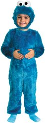Baby Cookie Monster Costumes (Cookie Monster Comfy Fur Costume - Baby 12-18)